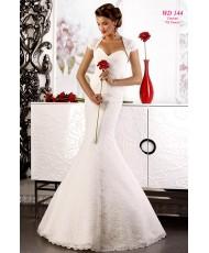 WD 144 Felicita Кружевное платье с драпировкой