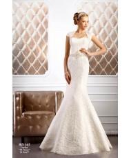 WDV 145 Кружевное платье с расшитым поясом