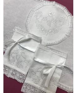 PL 051 Набор платочков белый