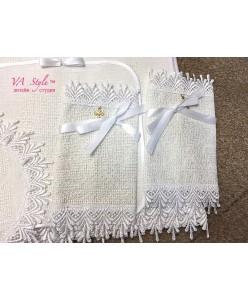 PL 067 Набор венчальный крестик вышивка