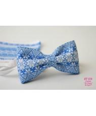 BT 026 Бабочка бело-голубая в украинском стиле