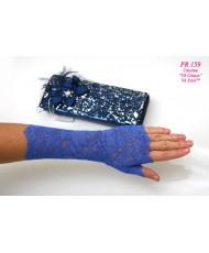 PR 159 Перчатки синие-васильковый цвет