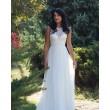 WD 243 Платье из шёлка с кружевом