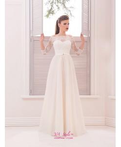 WD 262 Платье с удлинённым рукавом
