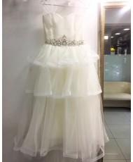 DP 367 Платье детское с оборками