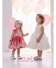 DP 301 Платье детское с кружевом до 2х лет