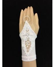 DPR 031 Детские перчатки с кружевом