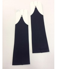 PR 079-navy Тёмно-синие перчатки без пальцев