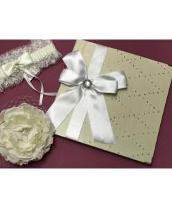 KN 029 Свадебная книга кремовая