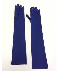 PR 116-1 Перчатки синие матовые выше локтя