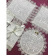 PL 055-1 Набор венчальный из льна с вышивкой