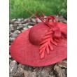 SH 616 Красная шляпа с большими полями