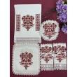 PL 096  Венчальный набор с вышивкой