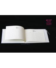 Свадебная книга с ручкой KN 027