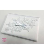 KN 028 Свадебная книга белого цвета