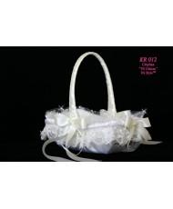 Корзинка свадебная айвори KR 012