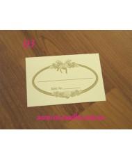 01 Карточка белого цвета с серебром