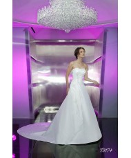 Свадебное платье из тафты T8174