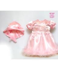 DP 003 Платье и шляпка розовое
