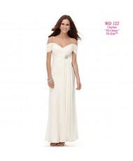 WD 122 Alex Evenings Платье шифон свадебное или вечернее