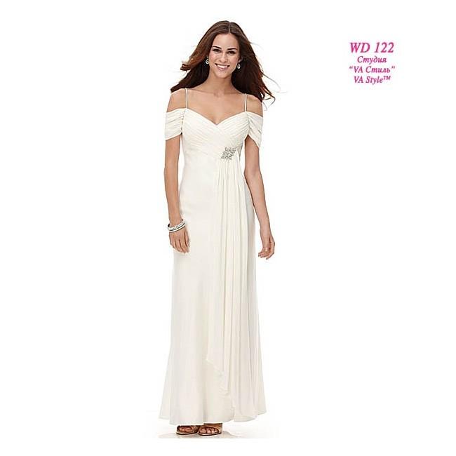 Свадебное платье из шифона Alex Evenings