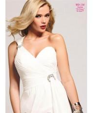 WD 134 Faviana Свадебное или вечернее платье с разрезом из шифона