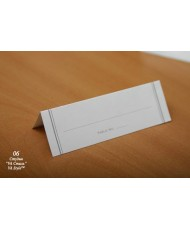 06 Посадочная карточка белая