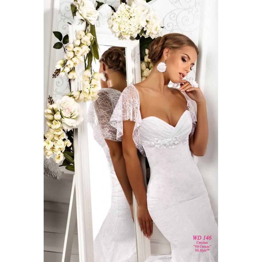 8cdbbf8b0f5 WDV 146 Роскошное свадебное платье кружевное - Hatshop интернет ...