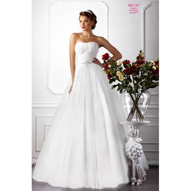 a92f925a236 WDV 147 Свадебное платье а-силуэт из кружева - Hatshop интернет ...