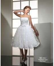 WD 116-1 Свадебное короткое пышное платье