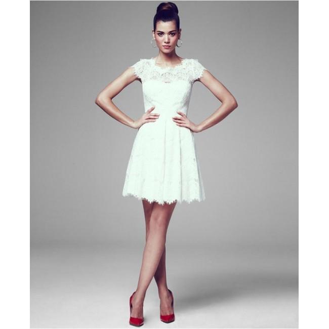 143e600b4b1 WD 209 Платье короткое кружевное с рукавчиком - Hatshop интернет ...