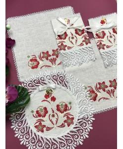 PL 059 Набор платочков на венчание
