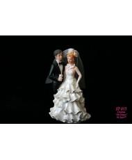 ST 015 Фигурка на торт жених и невеста