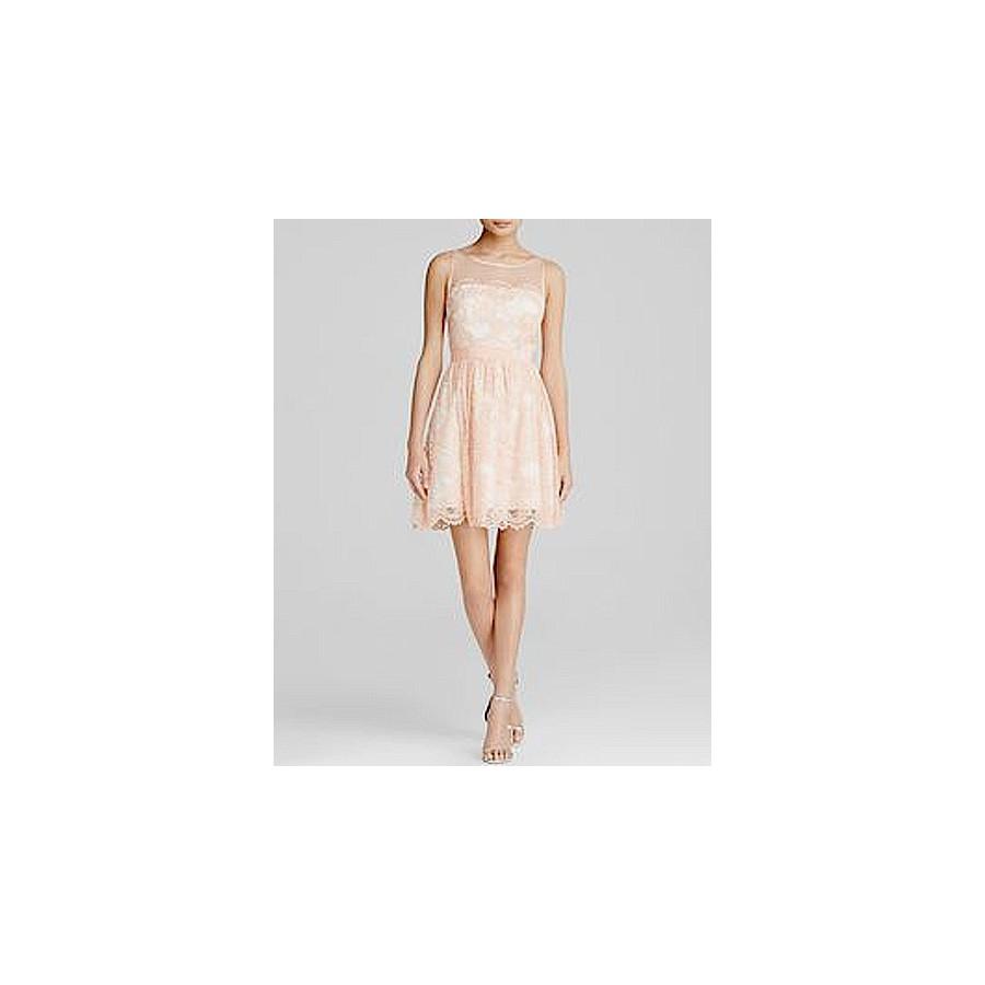 7ef83116417 V 175 Кружевное платье в персиковом цвете - Hatshop интернет магазин ...