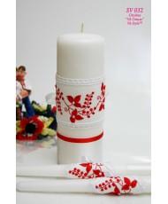 SV 032 Набор свечей в украинском стиле