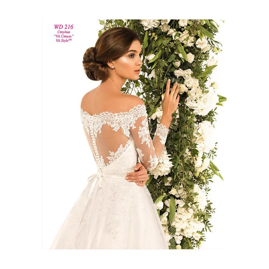 b877be85e86 WD 216 Свадебное платье со спущенным рукавом - Hatshop интернет ...