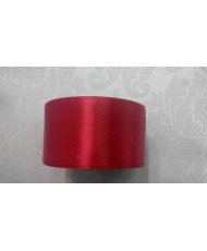 L2 Лента атласная яркая красная 5см ширина