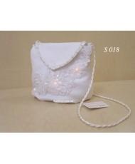 Свадебная белая сумочка S 018