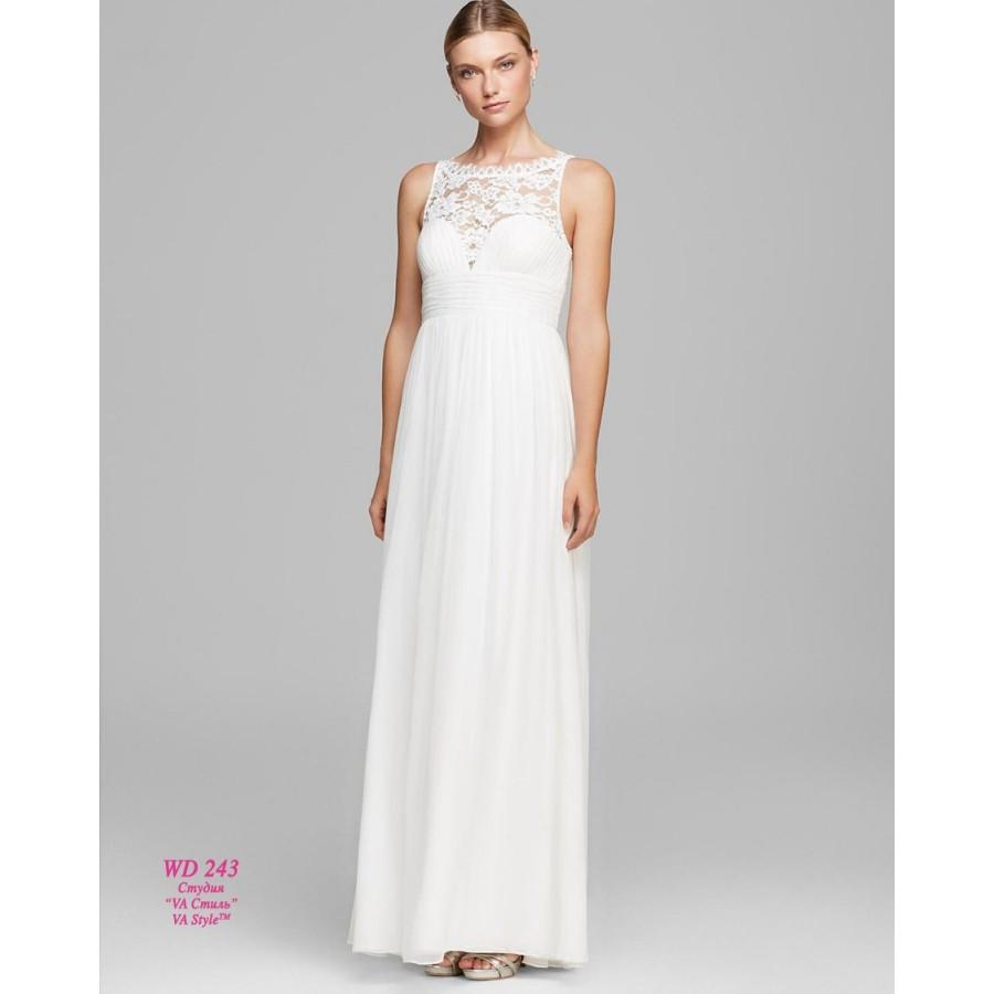 f9ccbdc5d8a WD 243 Платье из шёлка с кружевом - Hatshop интернет магазин ...