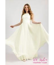 WD 256 Платье с кружевным лифом и шифоном
