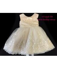 DP 301 Платье детское с кружевом