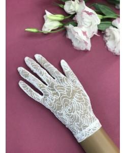 PR 051-1 Перчатки гипюр с пальцами