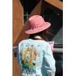 SH fetr 008 Шляпа из фетра пудрово-розовая