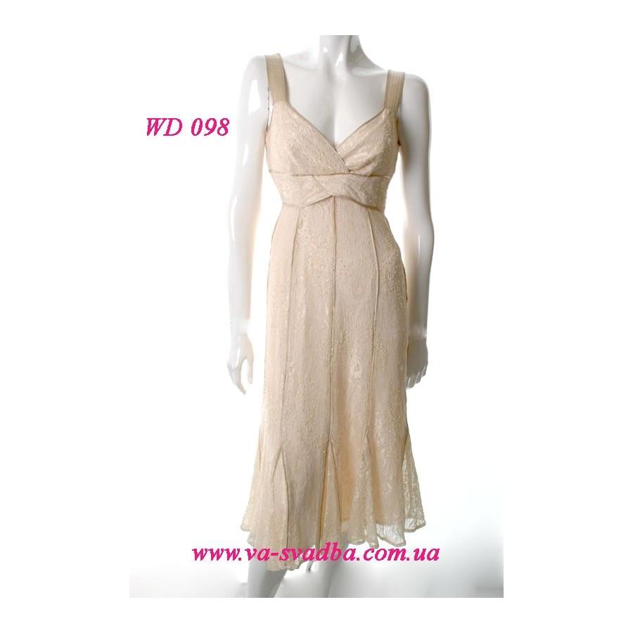 b0a996dfe0f Кружевное платье WD 098 - Hatshop интернет магазин свадебные платья ...