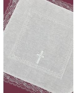 PL 044-x Платочек с вышивкой из хлопка