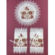 PL 059-red-gold Набор платочков на венчание