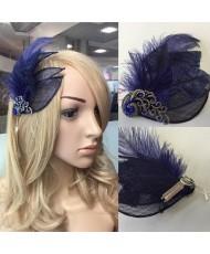 SH 120 Синее украшение для волос