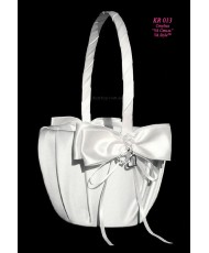 Свадебная корзинка атласная KR 013