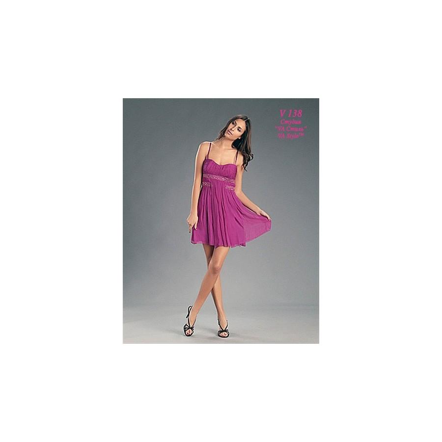 63ccb16c565 V 138 Розовое коктейльное платье из шелка 44р - Hatshop интернет ...