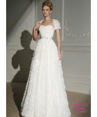 WD 117 Свадебное платье с розами